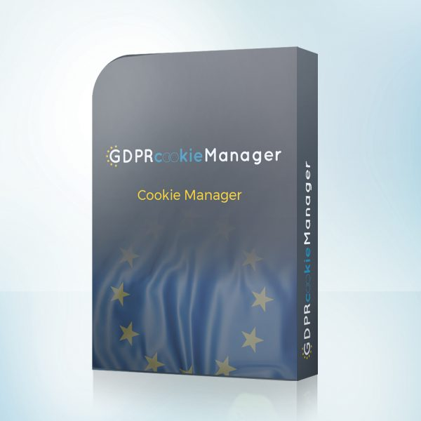 GDPR cookie manager